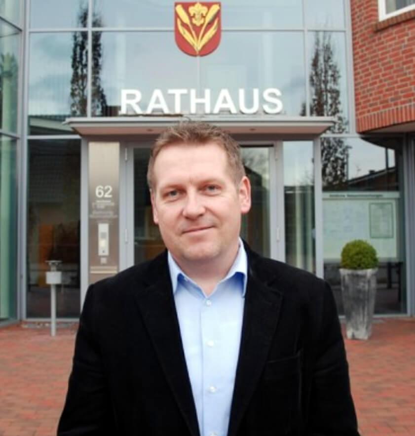 Ortsvorsitzender Johann Kuipser